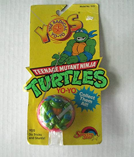 Amazon.com: Teenage Mutant Ninja Turtles Vintage Yo-Yo: Toys ...