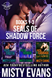 SEALs of Shadow Force Romantic Suspense Series Box Set, Books 1-3