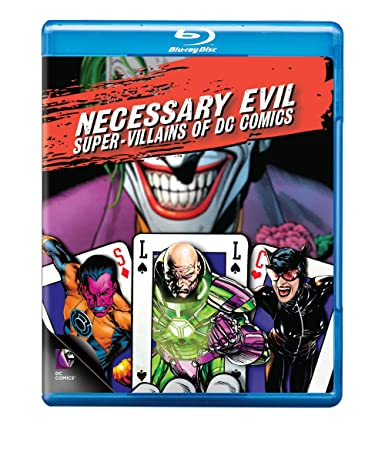 Amazon.com: Necessary Evil: Super-Villains Of DC Comics [Blu-ray ...