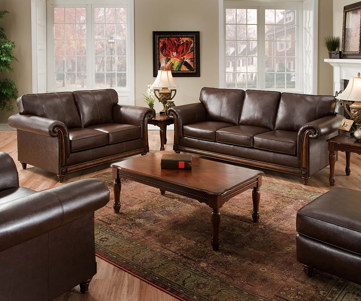 Amazon Simmons Upholstery 8001 03 San Diego Coffee Bonded