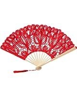 The 1 for U - Bolso de asas para mujer rojo rojo