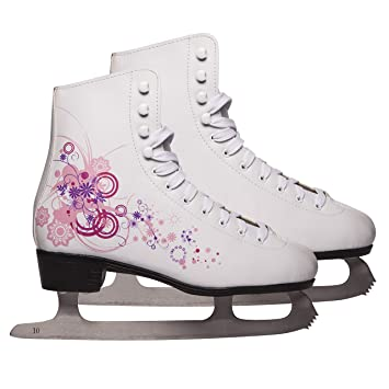 amazon com ultega ice skates for women and children white 11