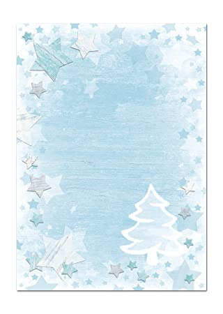 OFERTA: 25 hojas de papel carta Navidad Navidad Papel de ...