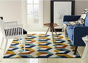 Home Dynamix 9843-999 Trina Trina Turk Tanja Bevins Modern Area Rug 1'6