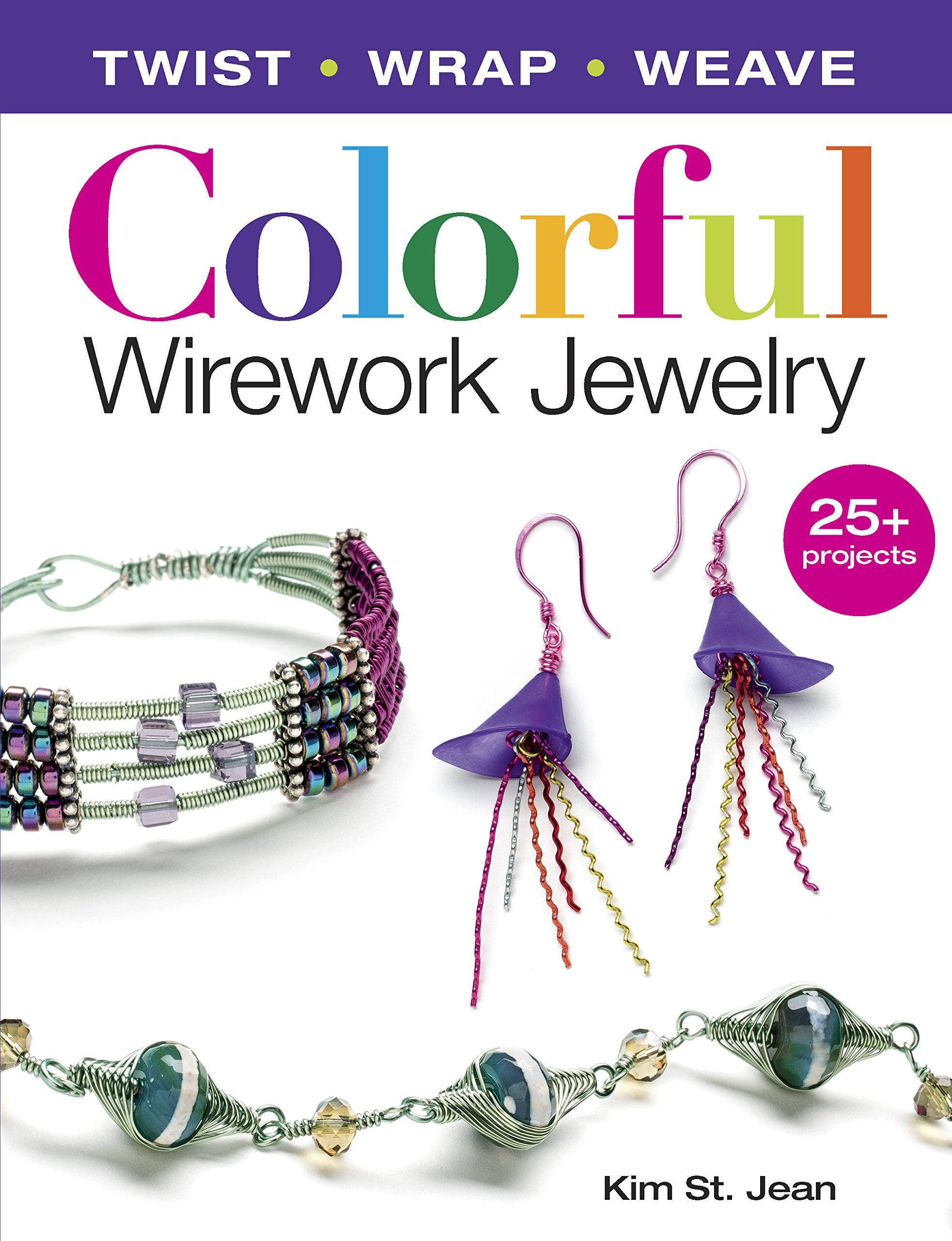 colorful-wirework-jewelry-twist-wrap-weave