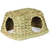 Prevue Hendryx 1097 Nature's Hideaway Grass Hut Toy, Medium