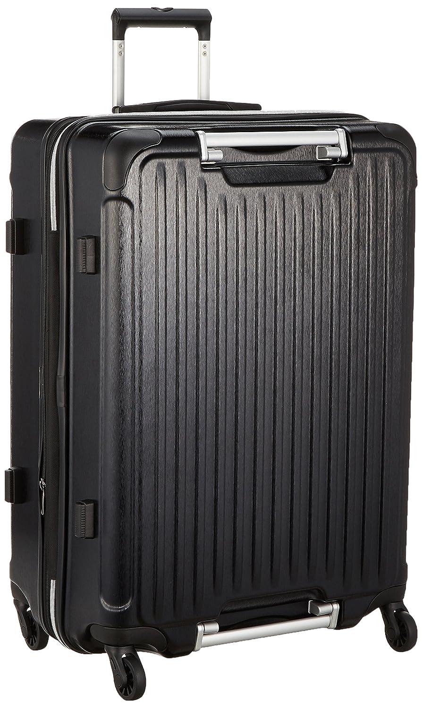 [エスケープ] ハードジッパースーツケース GripMaster グリップマスター 拡張式 保証付 97L 67cm 4.9kg ESC2069-67  ヘアラインマットブラック B0787JNGZV