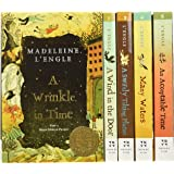 The Wrinkle in Time Quintet Boxed Set (A Wrinkle in Time, A Wind in the Door, A Swiftly Tilting Planet, Many Waters, An Accep
