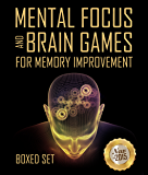 Mental Focus and Brain Games For Memory Improvement: 3 Books In 1 Boxed Set