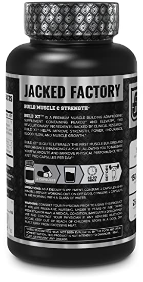 Build-XT Muscle Builder - Daily Muscle Building Supplement for Muscle  Growth and Strength   Featuring