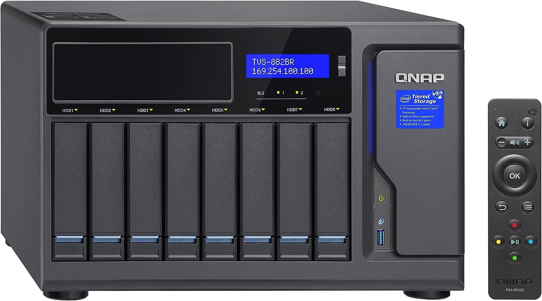 Qnap Tvs 882br I5 16g Blu Ray Rdx Backup Nas Disc Computer Zubehör