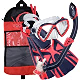 U.S. Divers Junior Regal Mask, Trigger Fins and Laguna Snorkel Combo Set