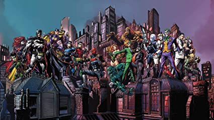 Amazon.com: Batman Gotham City Chronicles Board Game (Base ...