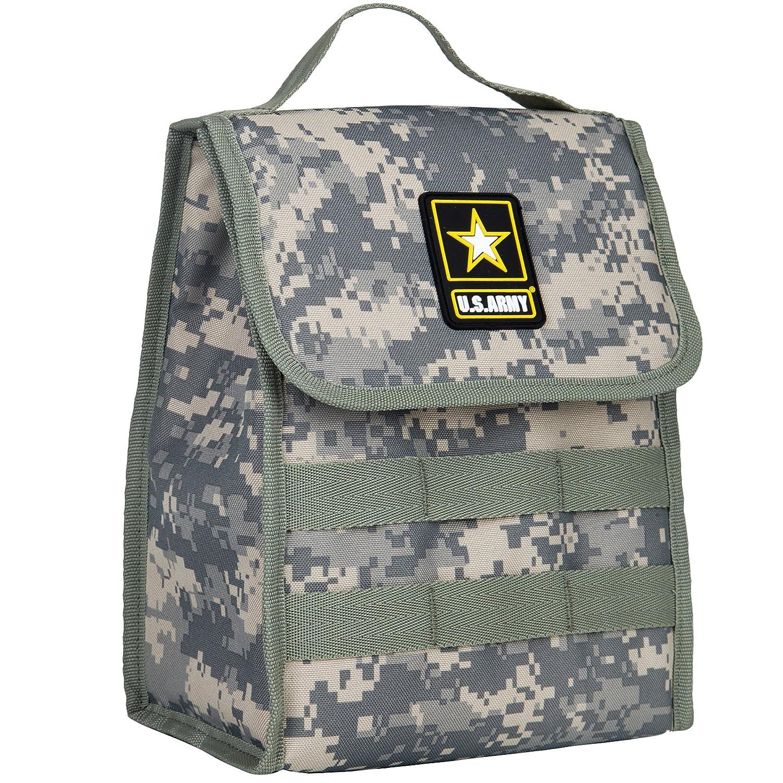 fefec955a82f Wildkin Lunch Bag, US Army
