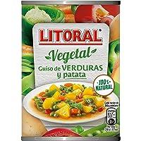 LITORAL Vegetal Guisos de verduras y patata