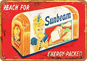 Wall-Color 10 x 14 Metal Sign - Sunbeam Bread - Vintage Look