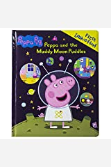 Peppa Pig - Peppa and the Muddy Moon Puddles - First Look and Find Board book