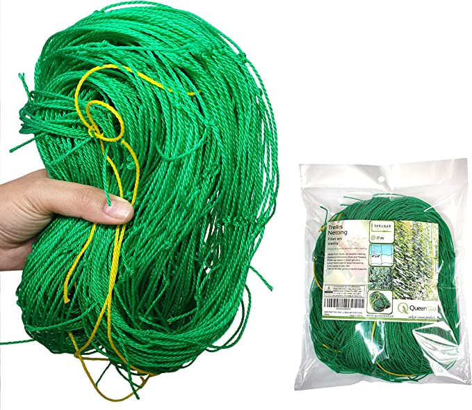 Tomato 1.67 x 5m Heavy Duty Trellis Netting Plant Climbing Net for Cucumber