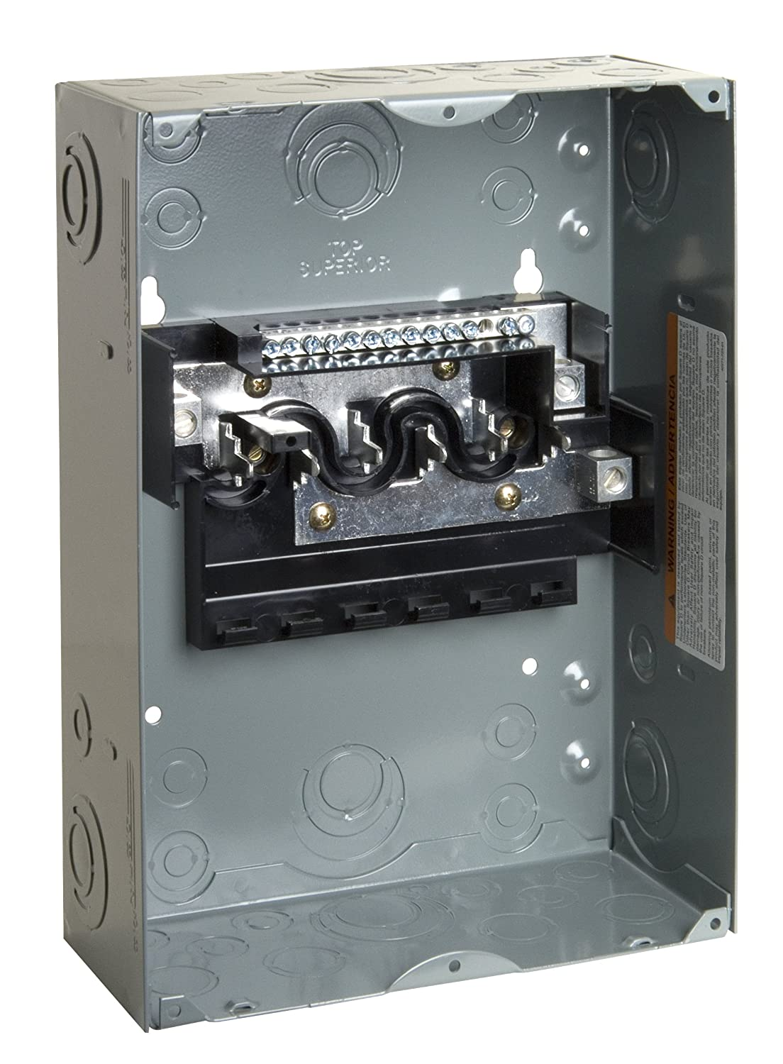 Square D by Schneider Electric HOM612L100SCP Homeline 100 Amp 6 ...