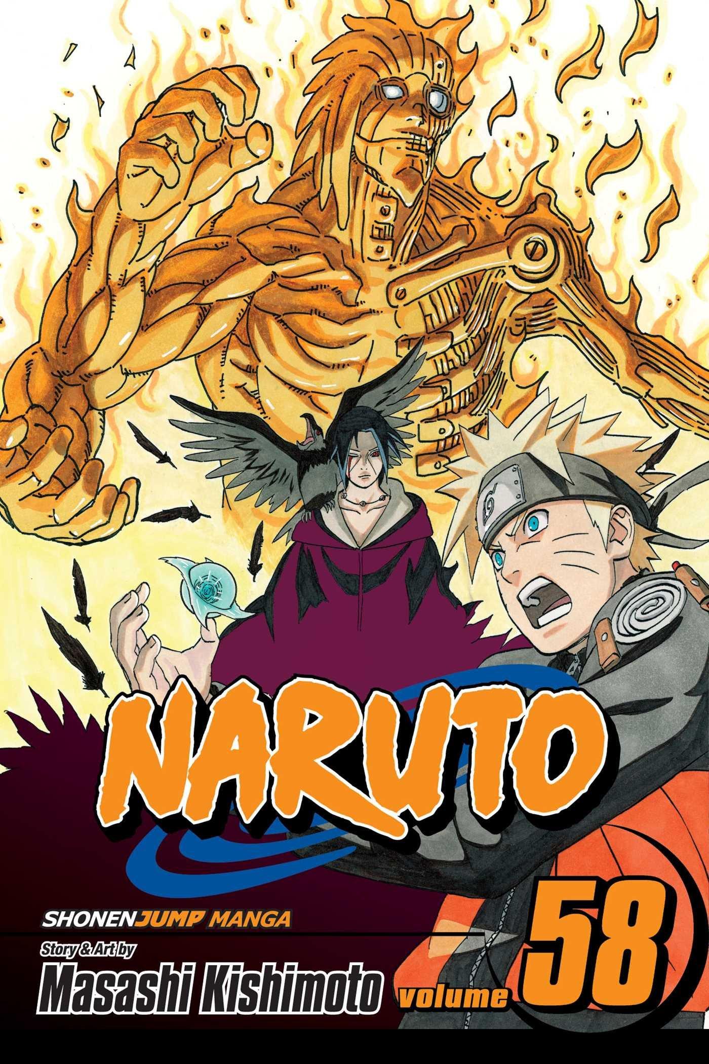 Amazon.com: Naruto, Vol. 58: Naruto vs. Itachi (9781421543284): Masashi  Kishimoto, Masashi Kishimoto: Books