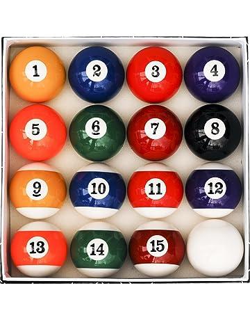 Gentil Pool Table Billiard Ball Set, Art Number Style