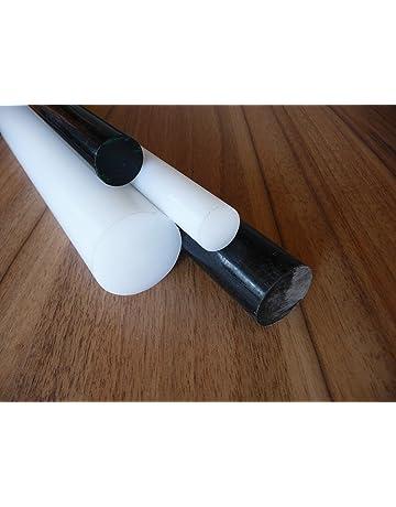 Lang 1000 mm Kunststoffrundstab alt-intech/® Rundstab aus PE-HD schwarz /Ø 30 mm
