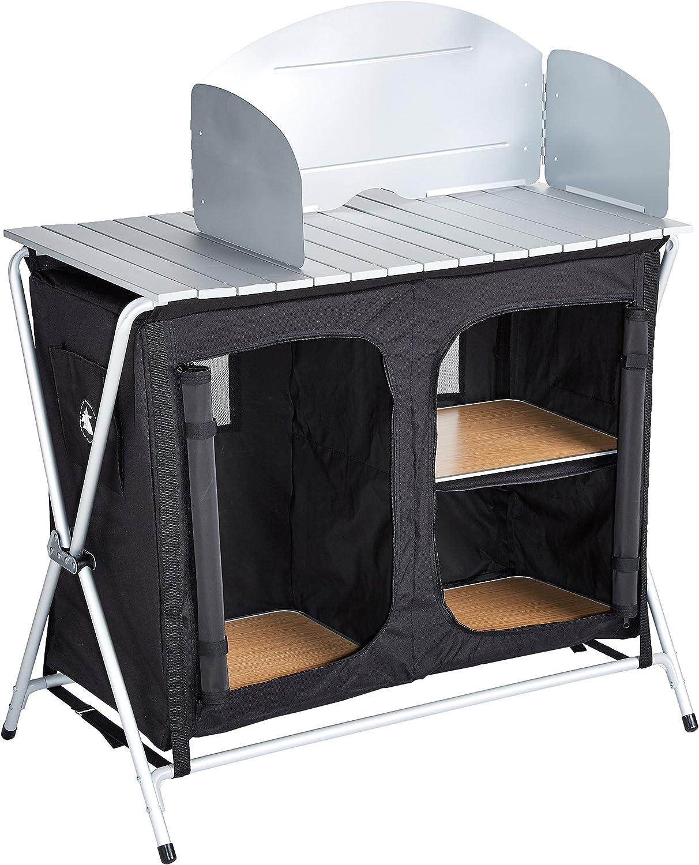10T Outdoor Equipment 10T Flapbox Kitchen Cocina de Camping, Unisex, Negro, Estándar