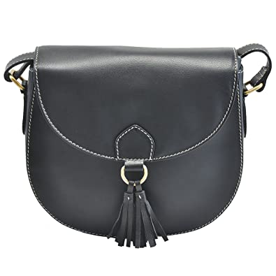 390e2f5ecc Handmade Leather Saddle Bag Cross Body Purse With Adjustable Shoulder Strap  For Women