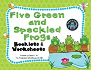 Five Green and Speckled Frogs Booklets and Worksheets Pack