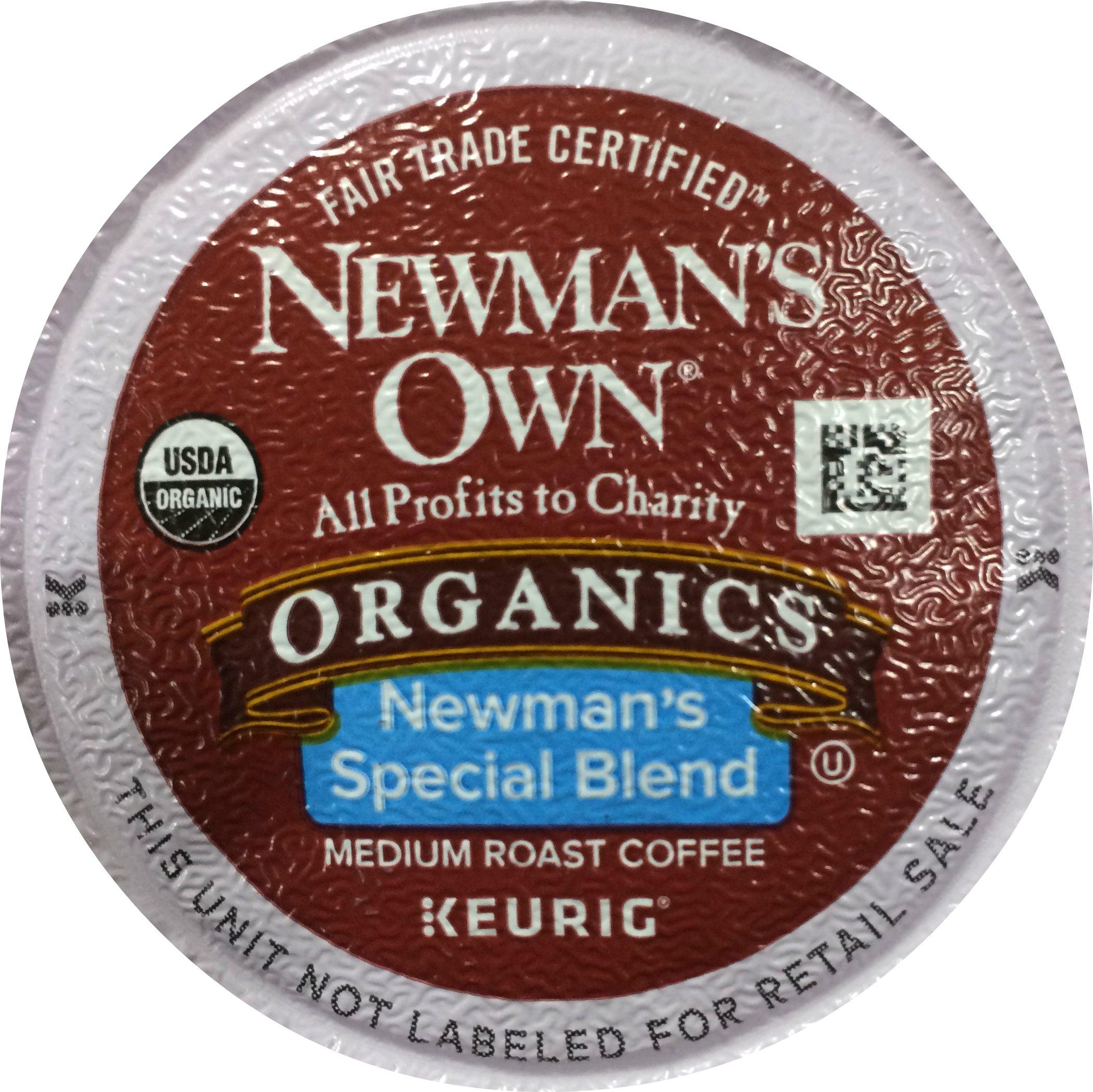 Newman's Own Organics Special Blend Coffee K-Cups (100 K-Cups) - Packaging May Vary by Newman's Own Organics