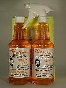 Whatiuse Orange Oil Furniture Polish and Cleaner