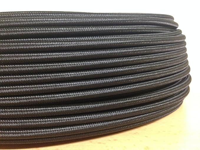 Textilkabel Stoffkabel Lampenkabel 2x0 75mm 5m Rolle 21 Verschiedene