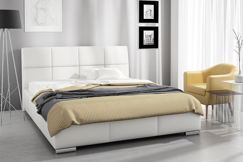tapizada (Modelo Mona y cajón de Cama con somier 180 x ...