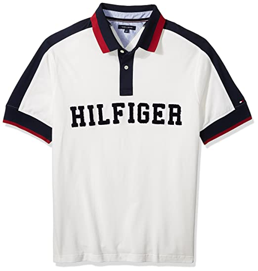Amazon Com Tommy Hilfiger Men S Big And Tall Polo Shirt With Logo