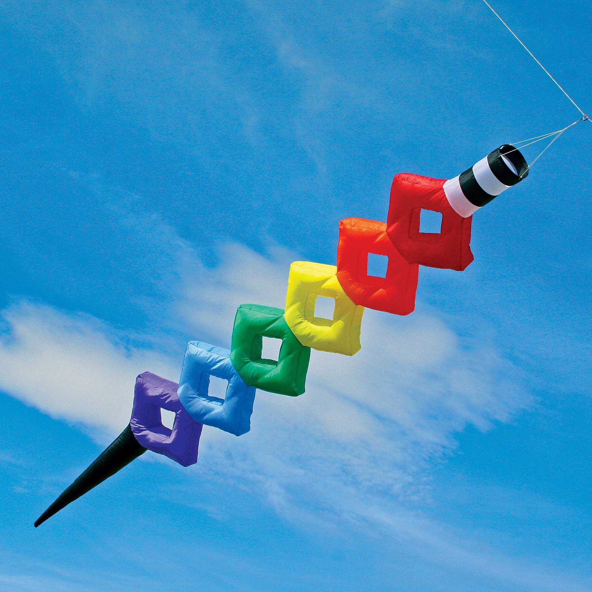 15' Cube Tube Kite Line Laundry