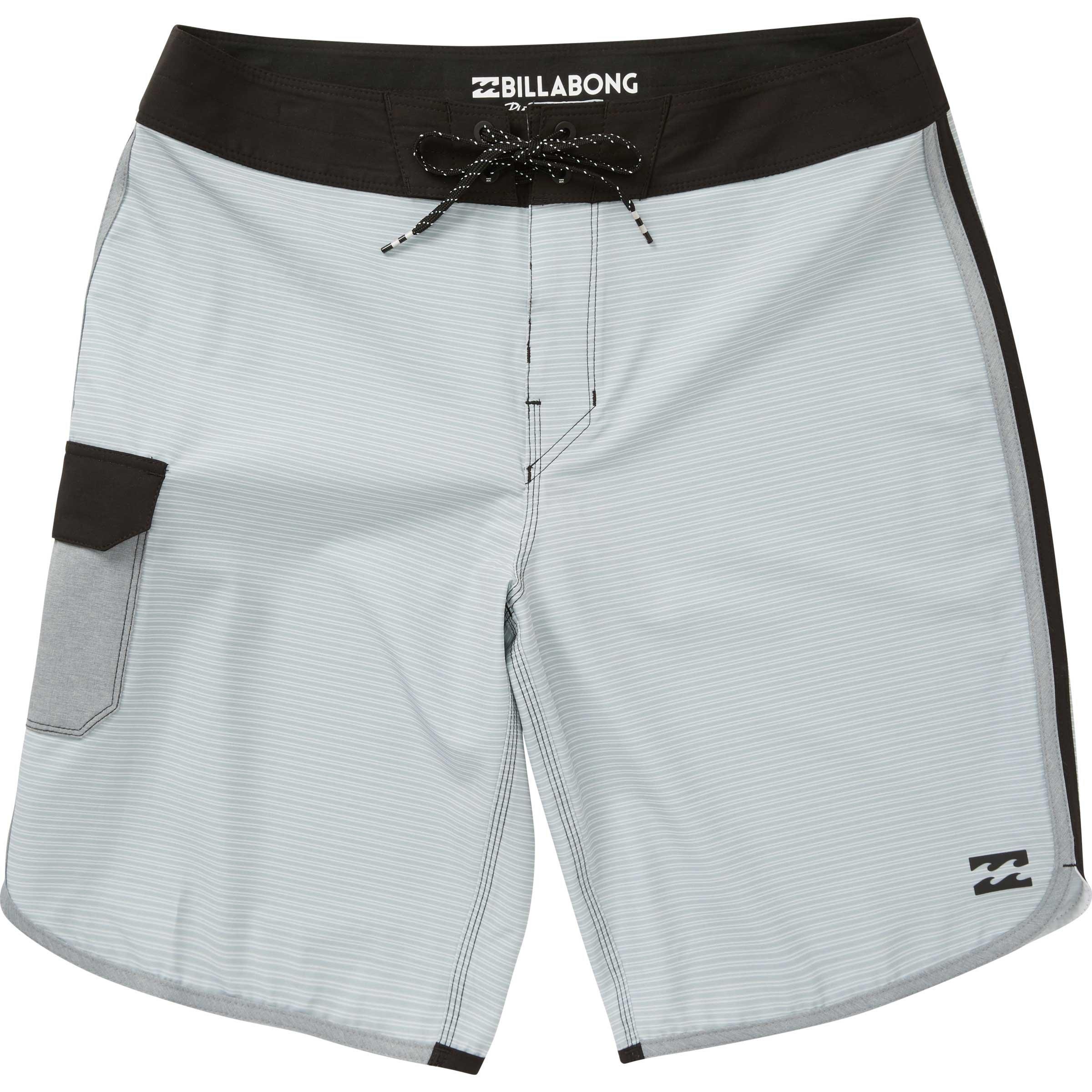 Billabong Men's 73 X Short Boardshort, Silver, 36