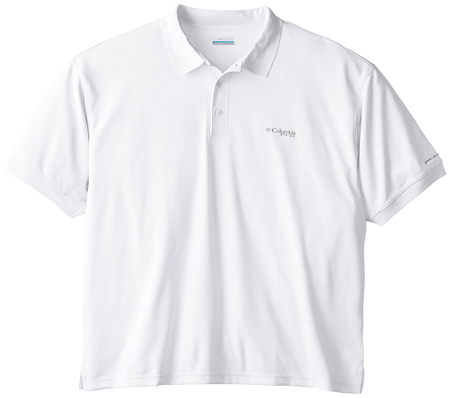 c7155fa5 Amazon.com: Columbia Sportswear Men's Perfect Cast Polo Shirt, White,  X-Large Tall: Clothing