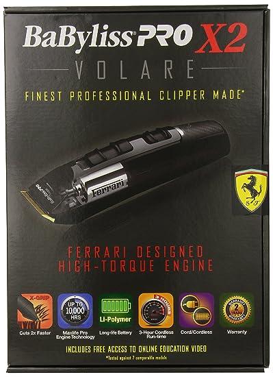 BaByliss Pro X2 Volare Ferrari Clipper