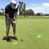 Puttster Golf Putting Training System by GoSports | Perfect Your Short Putts with Ramp Return System| Use Indoors or Outdoors