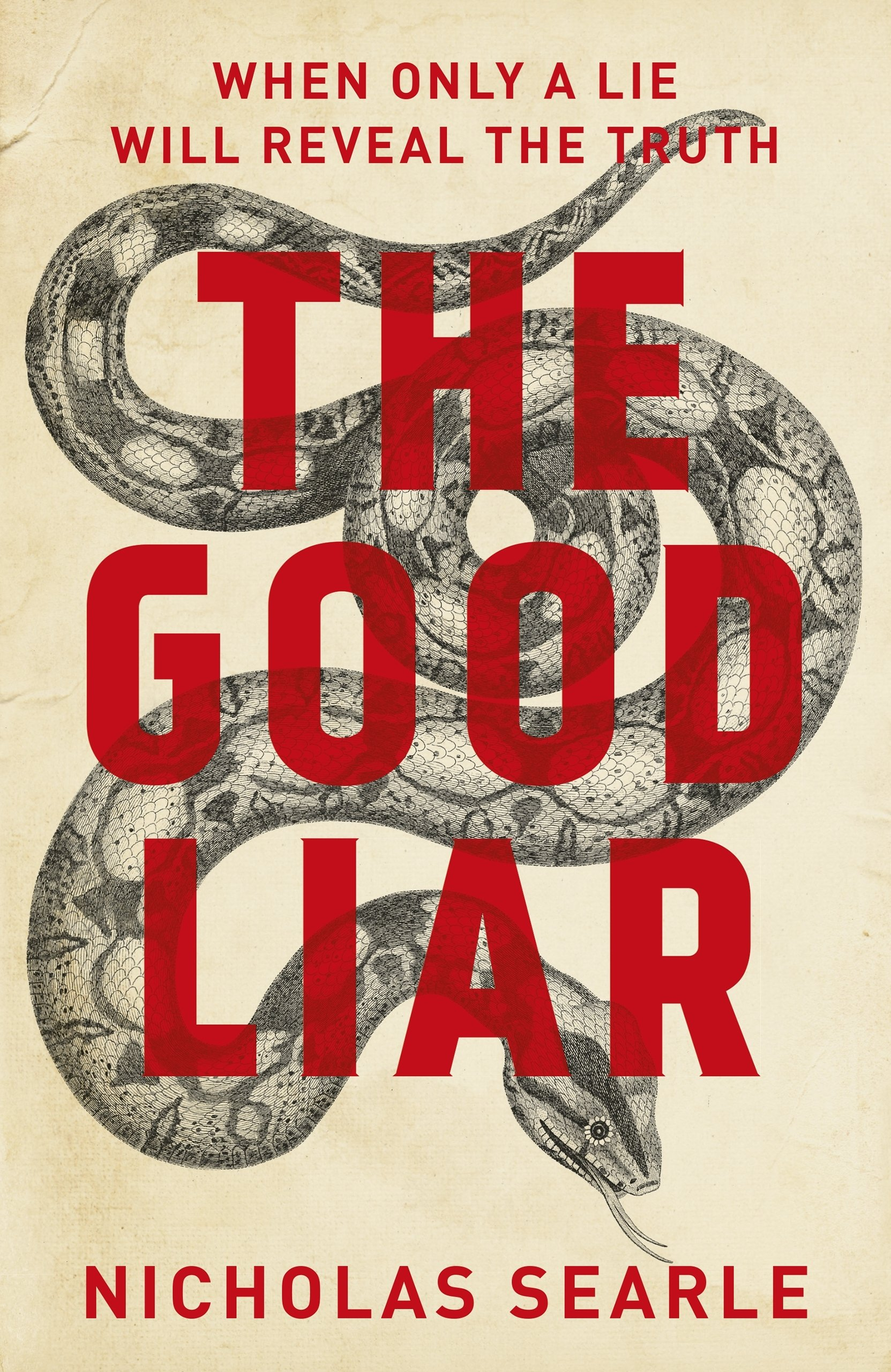 Image result for The Good Liar by Nicholas Searle