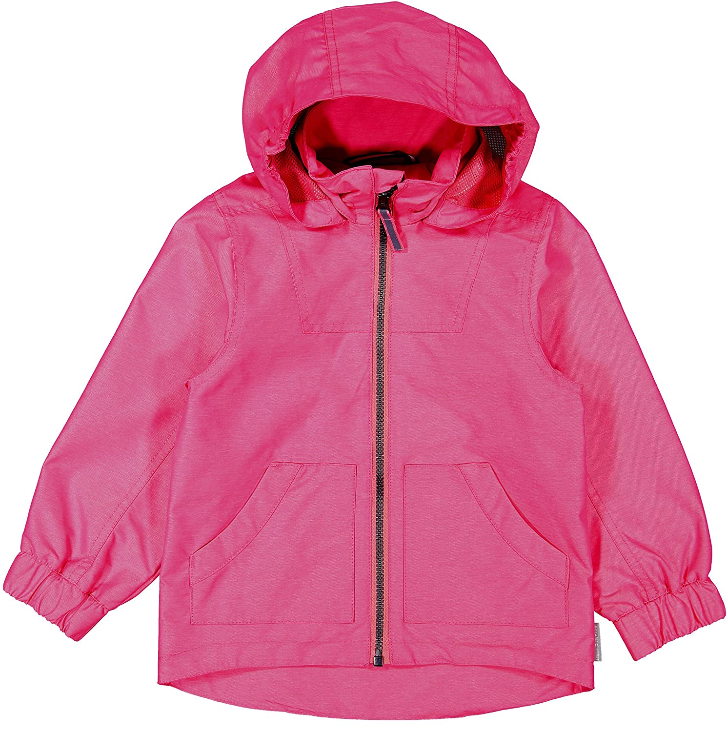 2-12 Years Waterproof Packaway Kids Shell Jacket Pyret Girls Pink Polarn O