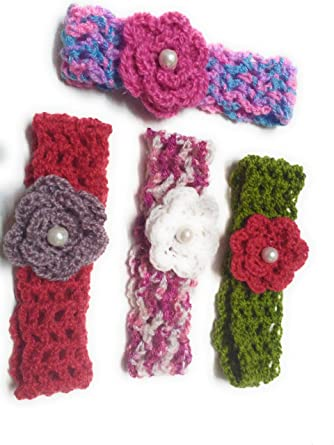 Sabzcreations Headband For Baby Girl Handmade 14cms In Size Buy 3