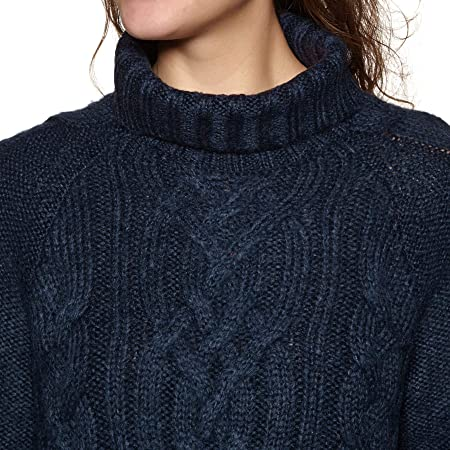5db01b41e38 Joules Womens Jessie Cosy Cable Knit Oversized Jumper