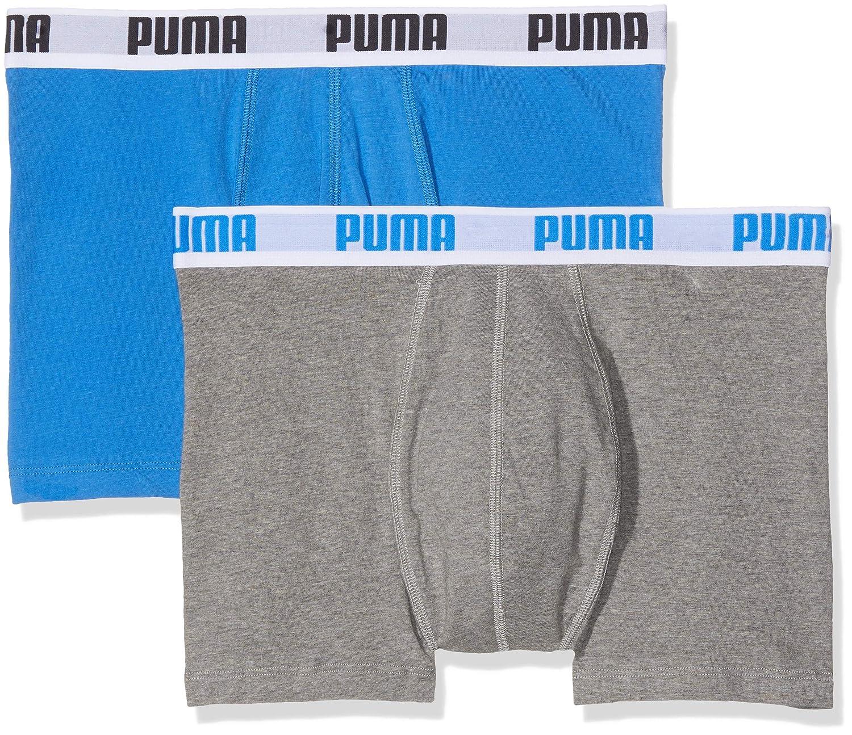 8 er Pack Puma Boxer shorts Blau Grau Size XL Herren