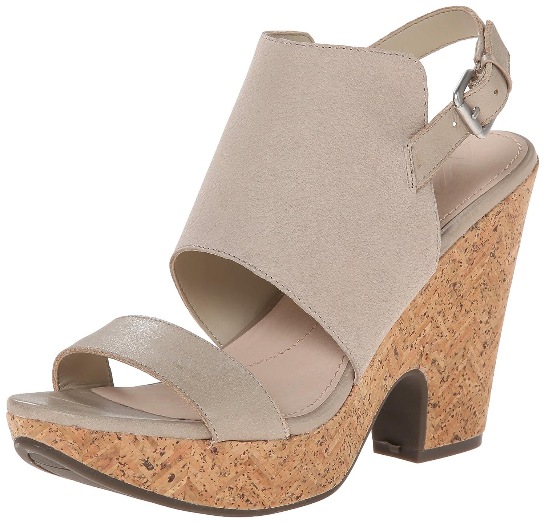 Naya Women's Misty Wedge Sandal B00LBEFC5C 8 B(M) US|Beige