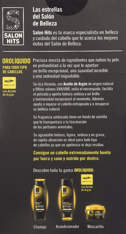 Salon Hits Orolíquido Fluido Sublime de Belleza y Brillo para el Cabello - 50 ml: Amazon.es: Amazon Pantry