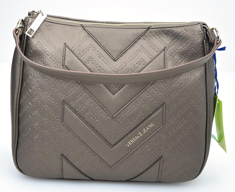 VERSACE JEANS WOMAN SHOPPING SHOULDER BAG BRONZE CODE E1VOBBW7 ONE SIZE  BRONZO - BRONZE  Amazon.co.uk  Shoes   Bags 65722833f8
