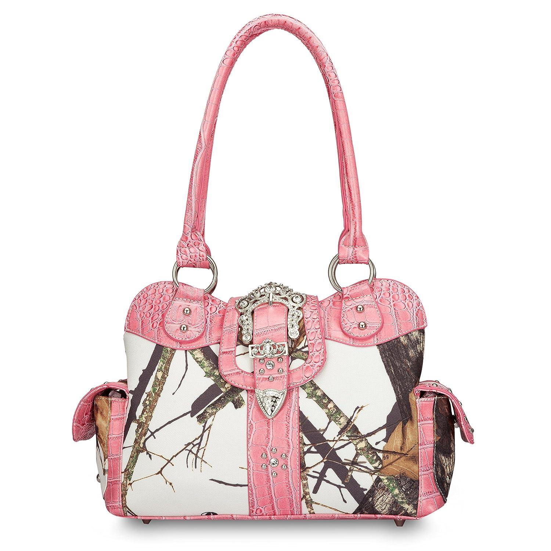 Mossy Oak Licensed Handbag VM1 WHT/PK