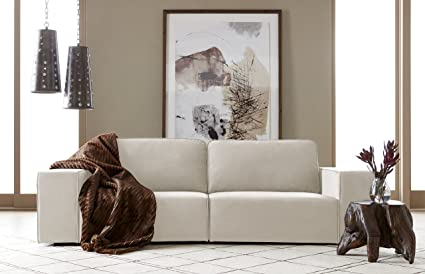 Superieur Serta Truman Sofa, Chenille Fabric, Bellvue Cream
