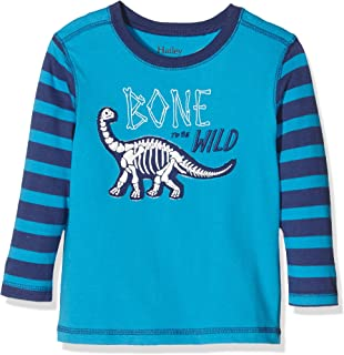 e01f2ea8f Hatley Boy s Moose V-Neck Sweater with Elbow Patches Sports Jumper ...